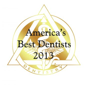 America's Best Dentists 2013 logo