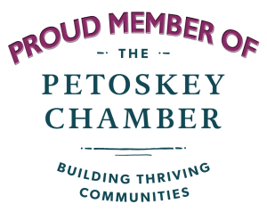 Logo for the Petoskey Chamber of Commerce